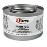 Sterno Handy Fuel Methanol Gel Chafing Fuel, 6.7 oz, Two-Hour Burn, 72/Carton Product Image