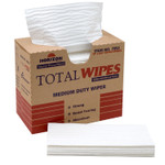 AbilityOne 7920014487053, SKILCRAFT, 4-Ply Utility Paper Towels, 10 x 16.5, White, 150/Box Product Image