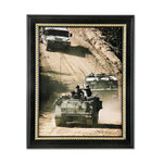 AbilityOne 7105014588210 SKILCRAFT Military-Themed Picture Frame, Army, Black, Wood, 8 1/2 x 11 Product Image