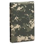AbilityOne 7510015574970 SKILCRAFT Pocket Padfolio w/Memo Book, 4 x 6, Camouflage, Dozen Product Image