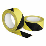 """AbilityOne 7510016174251, SKILCRAFT, Marking Tape, Yellow/Black, 2"""" x 108 ft Roll Product Image"""