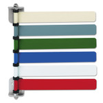 Medline Room ID Flag System, 6 Flags, Primary Colors Product Image
