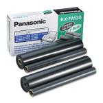 Panasonic KX-FA136 Film Roll Refill, 710 Page-Yield, Black, 2/Box Product Image