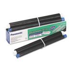 Panasonic KX-FA91 Film Roll Refill, 80 Page-Yield, Black, 2 Rolls/Box Product Image