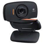 Logitech C525 Portable HD Webcam, 1280 pixels x 720 pixels, 1 Mpixel, Black Product Image