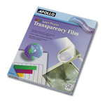 Apollo Color Laser Transparency Film, Letter, Clear, 50/Box Product Image
