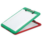 AbilityOne 7520016535890 SKILCRAFT Portable Desktop Clipboard, 9 1/2 x 13 1/2, Red/Green Product Image