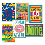 """TREND ARGUS Poster Combo Pack, """"Make the Effort"""", 13 3/8w x 19h Product Image"""