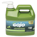 AbilityOne 8520016471707 GOJO SKILCRAFT Ecopreferred Pumice Hand Cleaner, 1/2 Gal Pump Bottle, Lime, 6/BX Product Image