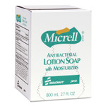 AbilityOne 8520015220829, SKILCRAFT, GOJO Antibacterial Lotion Soap, Floral, 800 mL Refill, 12/Carton Product Image