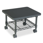 Safco Underdesk Printer/Fax Stand, One-Shelf, 19w x 16d x 13.5h, Black Product Image