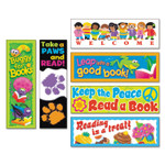 TREND Bookmark Combo Packs, Celebrate Reading Variety #1, 2w x 6h, 216/Pack Product Image