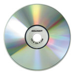 AbilityOne 7045015155375, CD-R Recordable Disc, 700MB/80min, 52x, Spindle, 100/PK Product Image