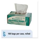 AbilityOne 8105013994791, Heavy-Duty Shredder Bags, 20 gal Capacity, 100/BX Product Image