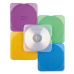 Verbatim TRIMpak CD/DVD Case, Assorted Colors, 10/Pack Product Image