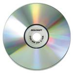 AbilityOne 7045015155371, Branded Attribute Media Disks, DVD-RW, 4.7GB, 4x, Silver, 5/PK Product Image