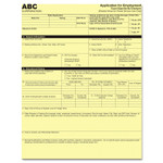 Iconex Digital Carbonless Paper, 1-Part, 8.5 x 11, Canary, 500/Pack Product Image