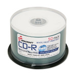 AbilityOne 7045015992655, CD-R Disc, 700MB/80min, 52x, Printable, Spindle, 50/Pack Product Image