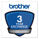 Brother 3-Year Exchange Warranty Extension for Select DCP/FAX/HL/QL/MFC Series Product Image