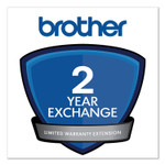 Brother 2-Year Exchange Warranty Extension for MFC-J460DW,J480DW,J485DW,J491DW,J497DW; QL-700,720NW,800,810W,820NWB, 1100; VC-500W Product Image