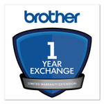 Brother 1-Year Exchange Warranty Extension for MFC-J460DW, J480DW, J485DW, J491DW, J497DW Product Image