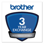 Brother 3-Year Exchange Warranty Extension for ADS-3600W; PDS-5000, 5000F, 6000 Product Image