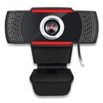 Adesso CyberTrack H3 720P HD USB Webcam with Microphone, 1280 pixels x 720 pixels, 1.3 Mpixels, Black Product Image