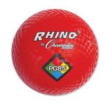 "Champion Sports Playground Ball, 8-1/2"" Diameter, Red Product Image"
