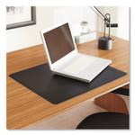 ES Robbins Natural Origins Desk Pad, 19 x 12, Matte, Black Product Image