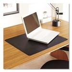 ES Robbins Natural Origins Desk Pad, 38 x 24, Matte, Black Product Image