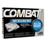 Combat Ant Killing System, Child-Resistant, Kills Queen and Colony, 6/Box, 12 Boxes/Carton Product Image