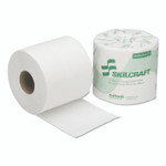 AbilityOne 8540005303770, SKILCRAFT, Toilet Tissue, Septic Safe, 1-Ply, White, 1,200 Sheets/Roll, 80 Rolls/Box Product Image