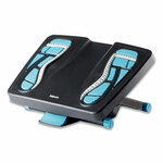 Fellowes Energizer Foot Support, 17.88w x 13.25d x 6.5h, Charcoal/Blue/Gray Product Image