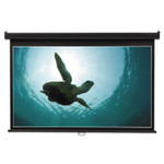 Quartet Wide Format Wall Mount Projection Screen, 65 x 116, White Product Image