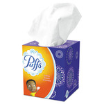 Puffs Facial Tissue, 2-Ply, White, 64 Sheets/Box Product Image