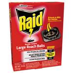 Raid Roach Baits, 0.7 oz, Box, 6/Carton Product Image