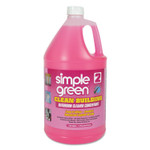 Simple Green Clean Building Bathroom Cleaner Concentrate, Unscented, 1 gal Bottle, 2/Carton Product Image