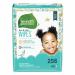 Seventh Generation Free & Clear Baby Wipes, Refill, Unscented, White, 256/Pack Product Image