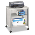 Safco Impromptu Machine Stand, One-Shelf, 26.25w x 21d x 26.5h, Gray Product Image