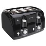 Sunbeam Extra Wide Slot Toaster, 4-Slice, 11 3/4 x 13 3/8 x 8 1/4, Black Product Image