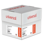 Universal Printout Paper, 3-Part, 15lb, 9.5 x 11, White, 1, 100/Carton Product Image