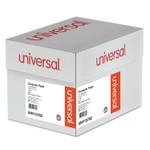 Universal Printout Paper, 1-Part, 20lb, 14.88 x 8.5, White/Green Bar, 2, 600/Carton Product Image