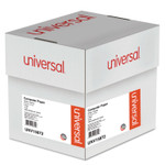 Universal Printout Paper, 2-Part, 15lb, 9.5 x 11, White/Canary, 1,800/Carton Product Image