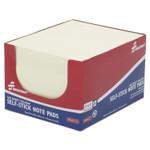 AbilityOne 7530012865121 SKILCRAFT Self-Stick Note Pads, 3 x 4, Unruled, Yellow, 100 Sheets, Dozen Product Image