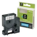"AbilityOne 7510016576746, Dymo/SKILCRAFT Label Cassette, 0.5"" x 24 ft, White/Black Product Image"