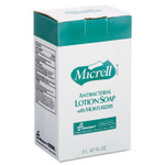 AbilityOne 8520015220831, SKILCRAFT, GOJO Antibacterial Lotion Soap, Unscented, 2,000 mL, 4/Box Product Image