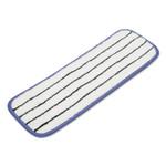 """AbilityOne 7920015749448, SKILCRAFT, 3M Easy Scrub Flat Mop Head, 18"""", Blue, 10/Box Product Image"""