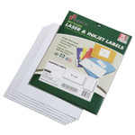 AbilityOne 7530015789293 SKILCRAFT Recycled Laser and Inkjet Labels, Inkjet/Laser Printers, 2 x 4, White, 10/Sheet, 25 Sheets/Pack Product Image