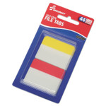"""AbilityOne 7510016614494 SKILCRAFT Self-Stick Tabs/Page Markers, 2"""", Bright, Asst, 44/Pack Product Image"""