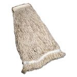 """AbilityOne 7920009265493, SKILCRAFT, Cut End Wet Mop Heads, 31"""", Cotton/Rayon, Natural Product Image"""